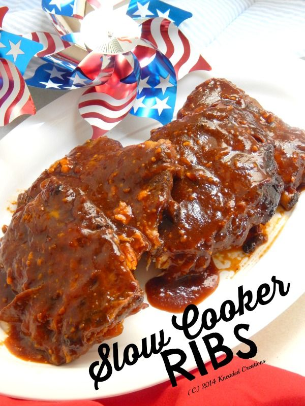 Easy Slow Cooker Barbecue Ribs | Recipe