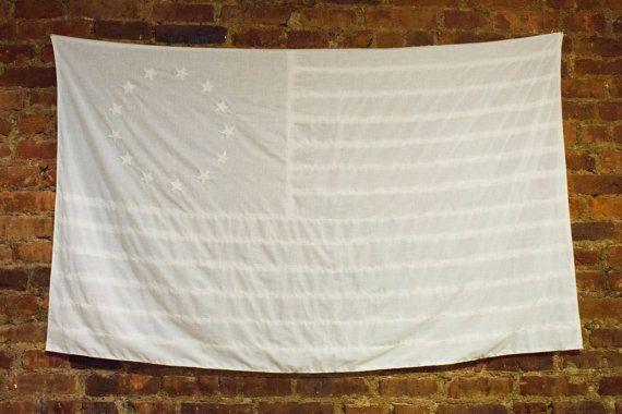 flag wall hanging