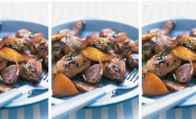 Slow roasted garlic and Lemon chicken. | Chicken | Pinterest