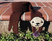 Amigurumi Pattern Crochet Sea Otter by MysteriousCats on Etsy