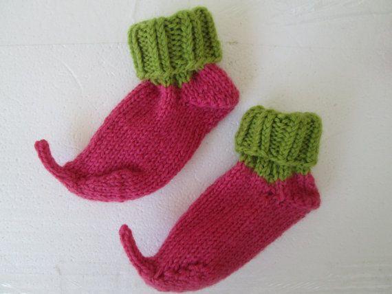 Elven pixie shoesElf Slipper Socks Crochet by Ritaknitsall on Etsy, $ ...