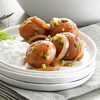 Party Potatoes with Creamy Aioli | Recipe
