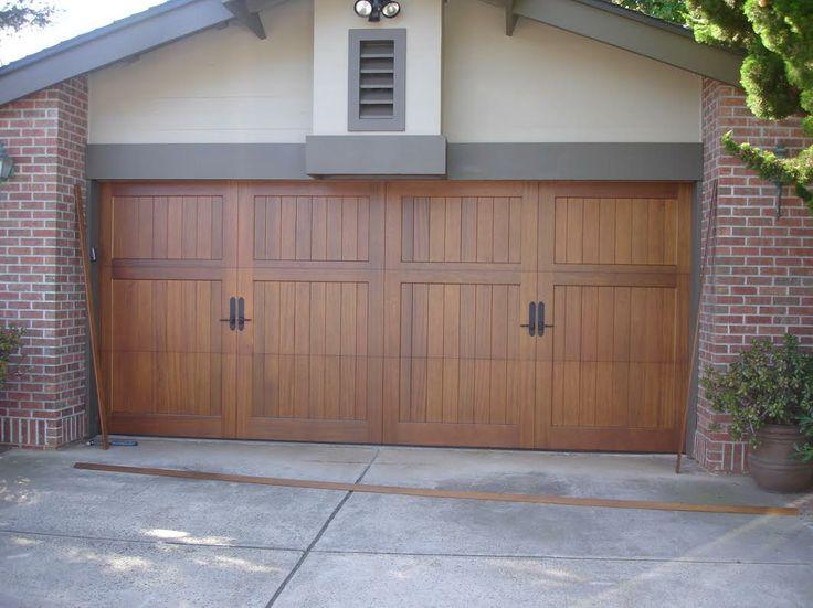garage door medics contemporary wood garage door pinterest