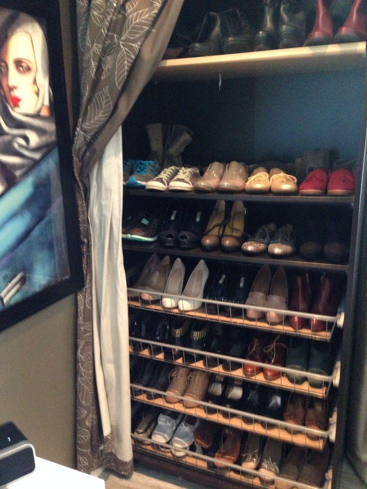 My Ikea Shoe Storage Solution Home Ideas Pinterest
