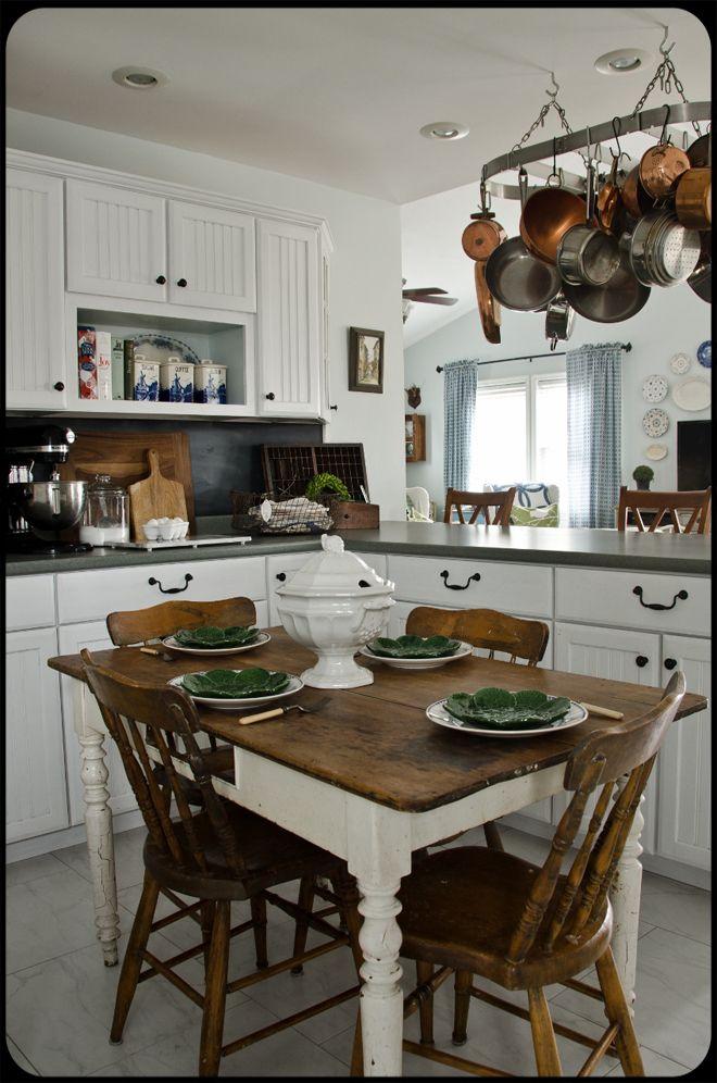 Cottage Kitchen Farmhouse Cottage Kitchens Pinterest