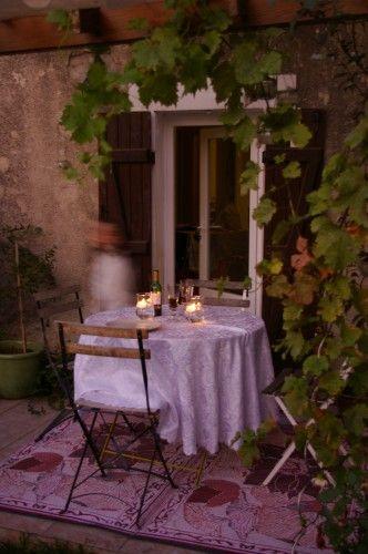 Table terrasse  BALCON/TERRASSE  Pinterest