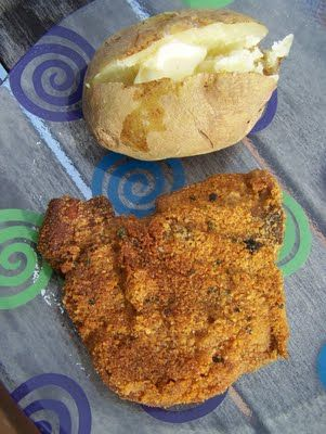 pork chops, fish, zucchini slices... use as the coating for Oven Fried ...