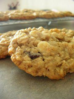White Chocolate Cherry Oatmeal Cookies | Yummy | Pinterest