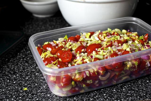Bloody Mary Salad Recipe — Dishmaps