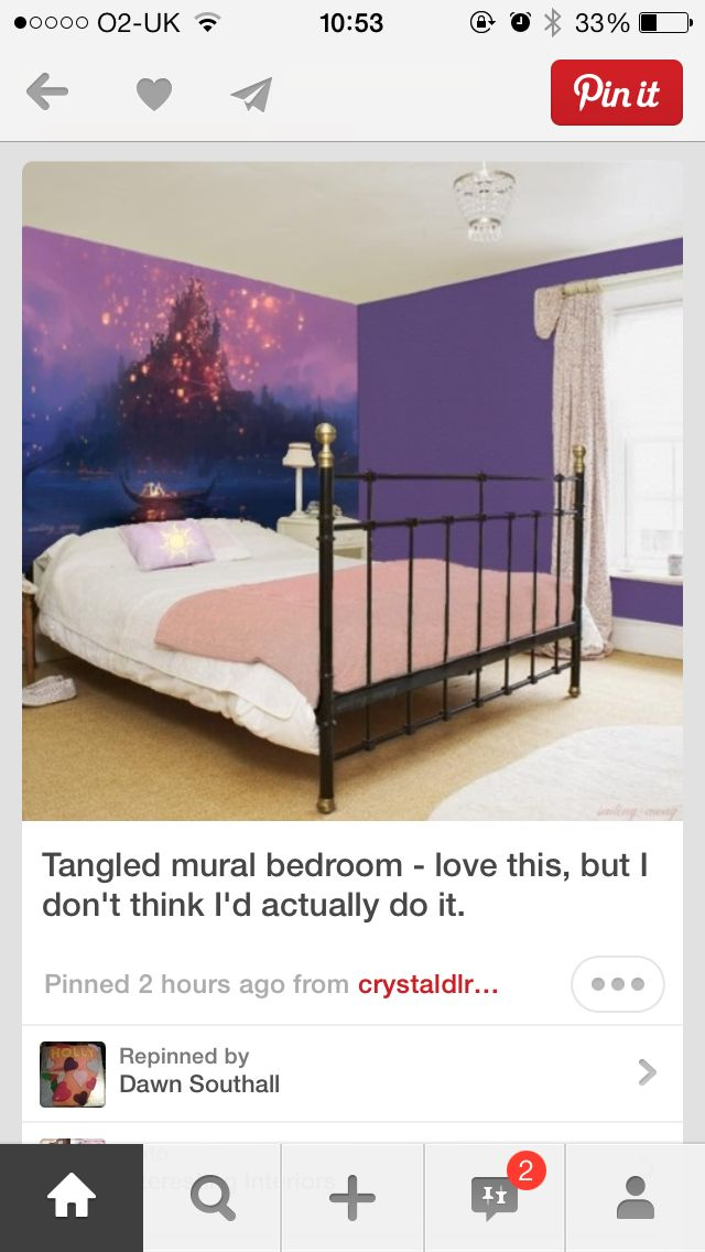 tangled bedroom dads room pinterest