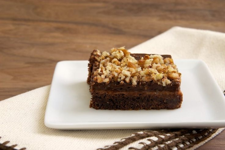 Chocolate-Caramel Pudding Bars are a great sweet treat that's cool ...