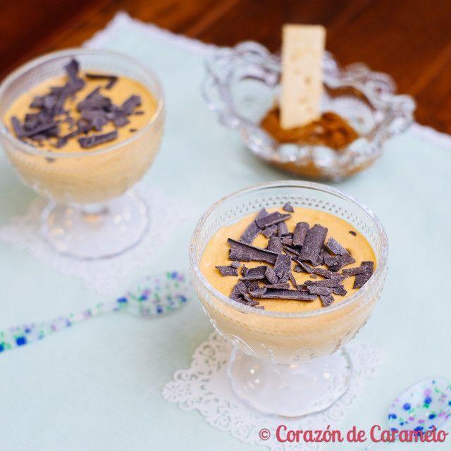 Mousse de dulce de leche | recetas por hacer | Pinterest