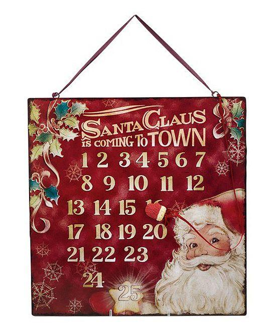 Santa Magnetic Countdown Calendar