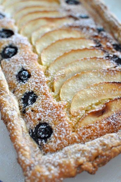 Apple and Blueberry Frangipane Tart | Food & Drink | Pinterest