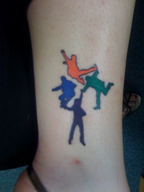 i have this beatles tattoo on my ankle who i am pinterest. Black Bedroom Furniture Sets. Home Design Ideas