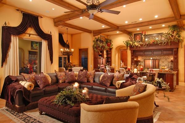 Tuscan Living Room Ideas Homeideasblog Tuscan Style Decorating ...