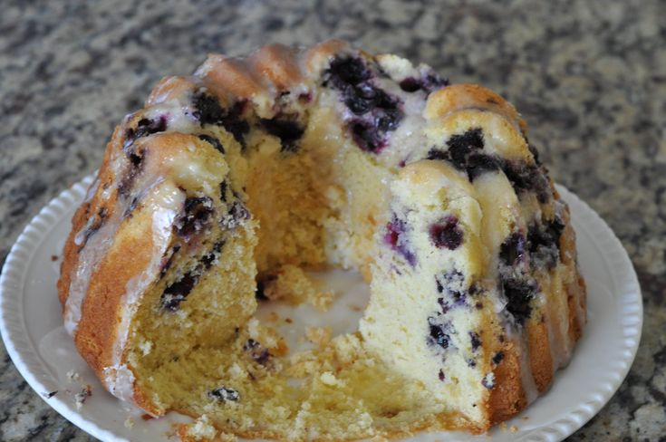 Martha Stewart Lemon Blueberry Bundt Cake Recipe