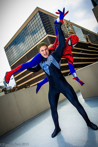 Spider-Man vs Scarlet Spider  CosplayScarlet Spider Vs Scarlet Spider