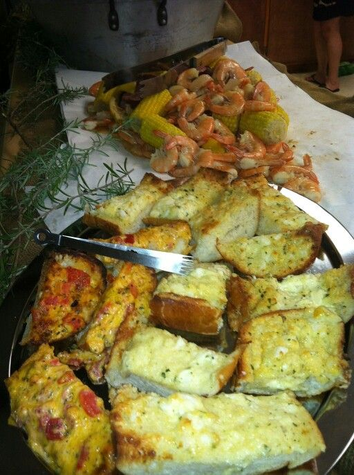 Cajun boil | Endless party food possibilities↑ | Pinterest