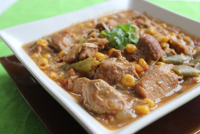 Crock Pot Pork and Green Chile Stew | Crockpot Crazy | Pinterest