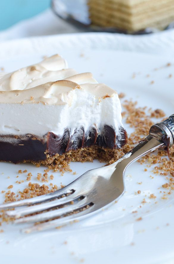 mores Coffee Pie - by Seeded at the Table