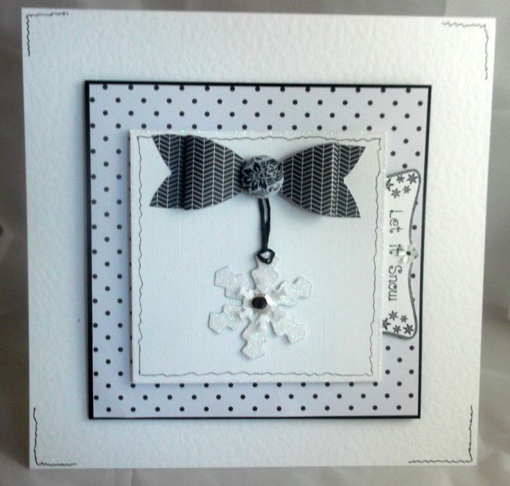 8x8 christmas card.. | Carol's Hand made Cards | Pinterest