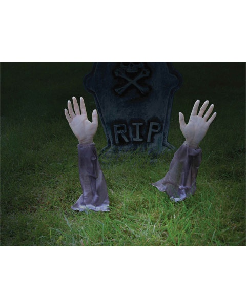 Zombie Arm Stakes | Party Decorations | Pinterest