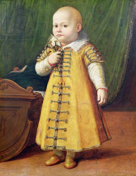 Portrait of a child (panel), Anguissola, Sofonisba (c.1532-1625)