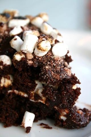 Chocolate Malt Cake from Bon Appetit   Desserts etc   Pinterest