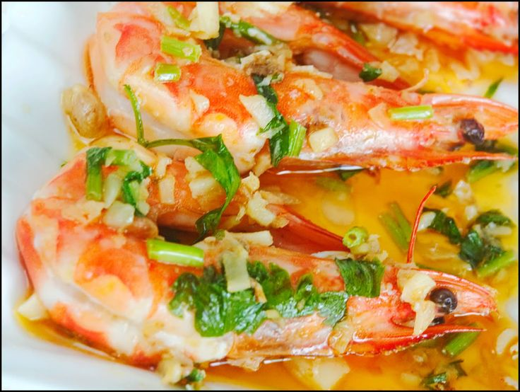 Garlic Butter Prawns   Seefood - Shrimp & Prawn   Pinterest