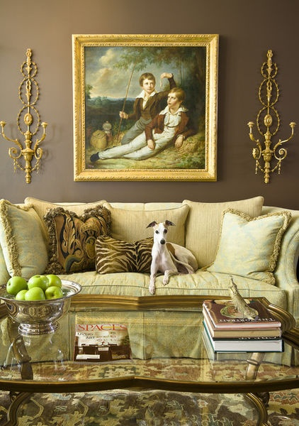 classic traditional living room walls with framed art. Black Bedroom Furniture Sets. Home Design Ideas