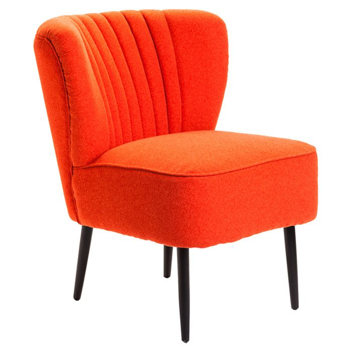 Valencia Accent Chair in Orange : things i love : Pinterest