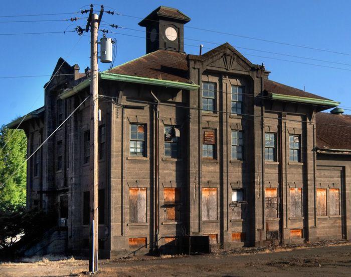 Old train station near portland oregon