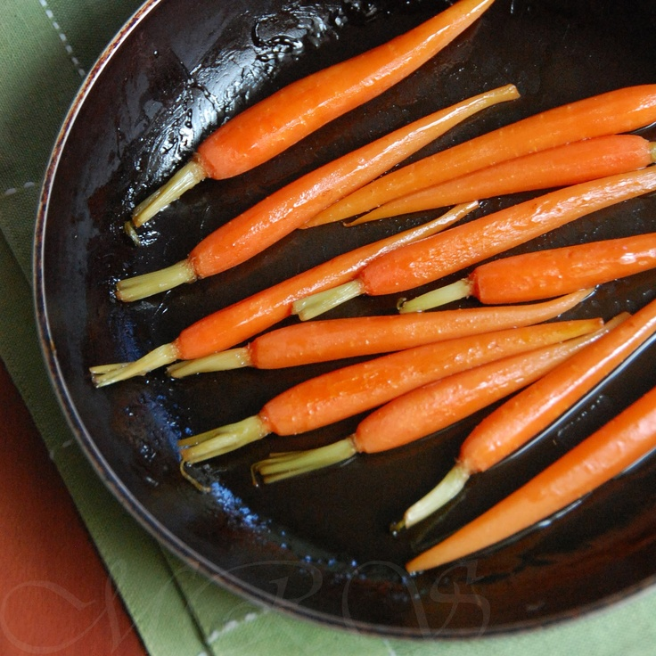 Healthy Bites: Pan-Roasted Maple Carrots--Pan-Roasted Carrots ...