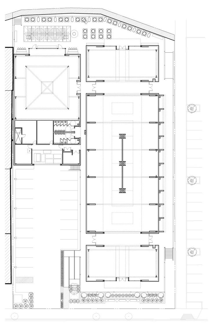 Floor Plan For Oxbow Public Market Napa CA