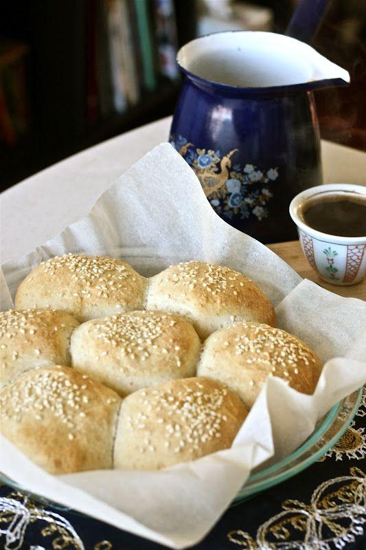 Soft Halloumi and Zaatar Rolls. Whole wheat flour, yogurt, olive oil ...