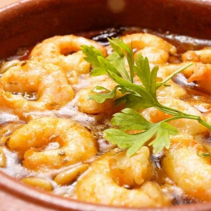 Spicy Lemon Garlic Shrimp   Food and cooking   Pinterest