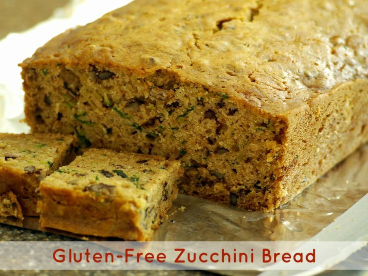Gluten-free zucchini bread | Yum Yum | Pinterest