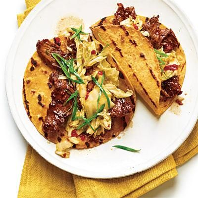 Korean-Style Beef Tacos | CookingLight.com | Weeknight Dinners ...