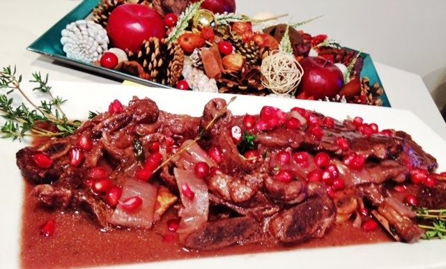 All in Moderation: Pomegranate Braised Short Ribs