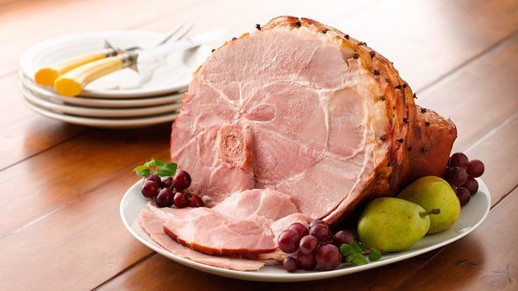 ... be complete without clove studded ham baked with a honey mustard glaze