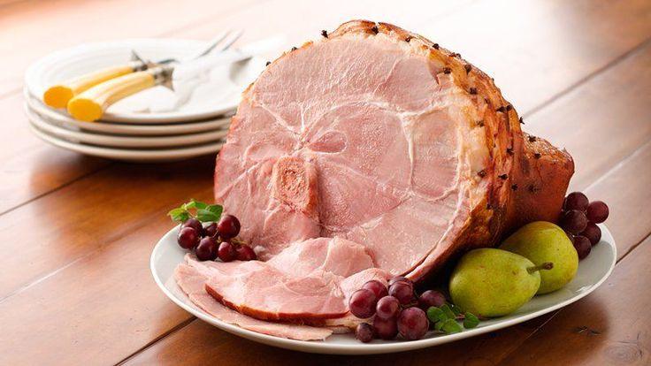 Honey-Glazed Baked Ham (Crowd Size) | Recipe