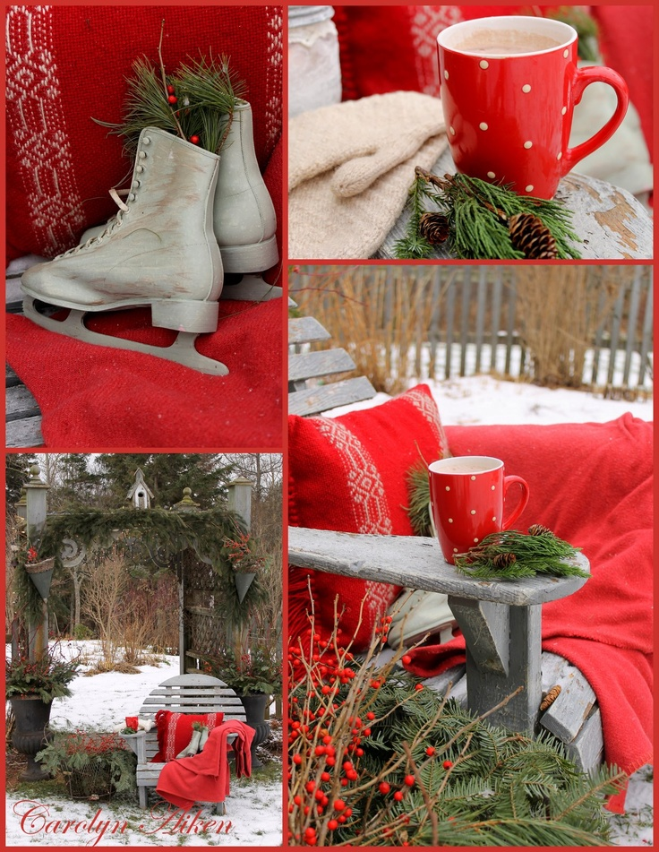 Country Christmas Decor Outside : Outdoor country christmas decor