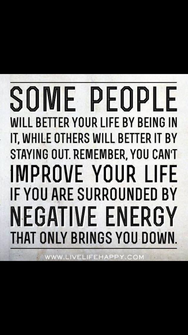 Quotes about negativity quotesgram Negative energy