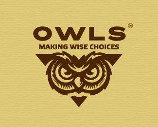 32 Owl Logo Designs Ideas Examples  Design Trends