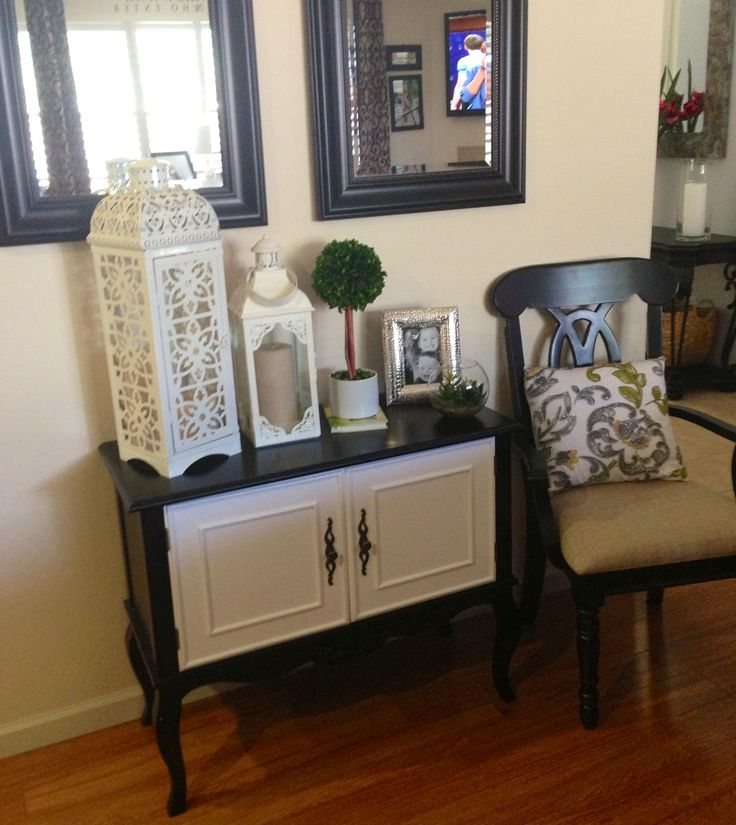 Console table decorations console table pinterest for Console table decor ideas