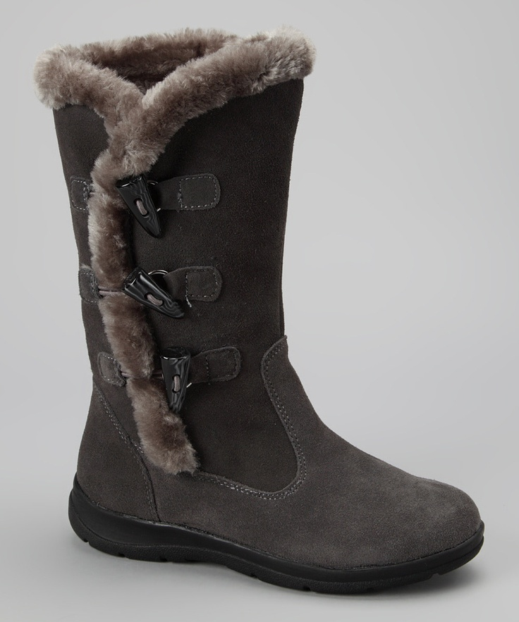 white mountain charcoal suede talus boot