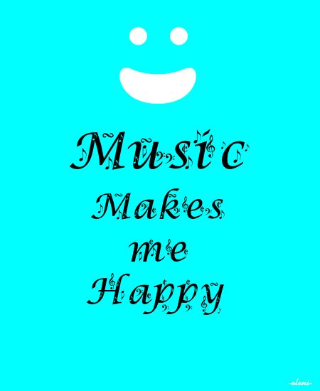 music makes me happy Lesson the purpose for primary 1 lesson 39: music makes me happy is to help everyone understand that good music helps us feel happy and reminds us of heavenly father and jesus christ.