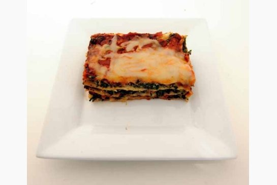 spinach and prosciutto lasagna | yummy | Pinterest