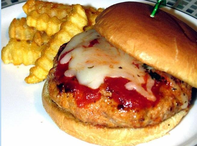 Italian Pork Patty Melts | Pork | Pinterest